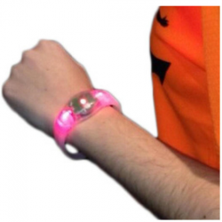 LINTERNAS - PULSERA LED - BRAZALETE LED - PUSHLIGHT - QUITAMIEDOS