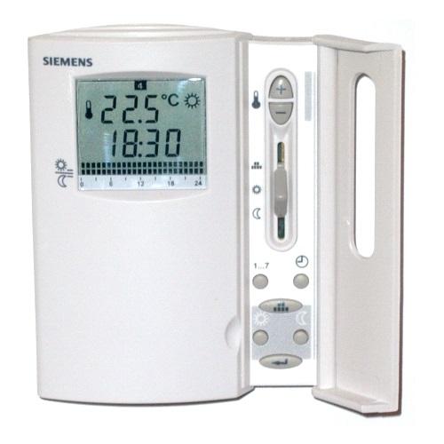 Grupo respira termostato ambiente siemens digital for Termostato digital calefaccion programable