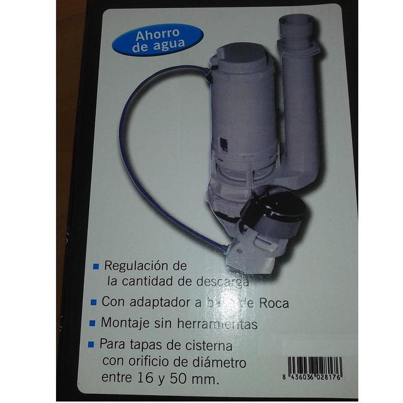 Grupo respira mecanismo doble pulsador inodoro roca for Mecanismo cisterna doble pulsador